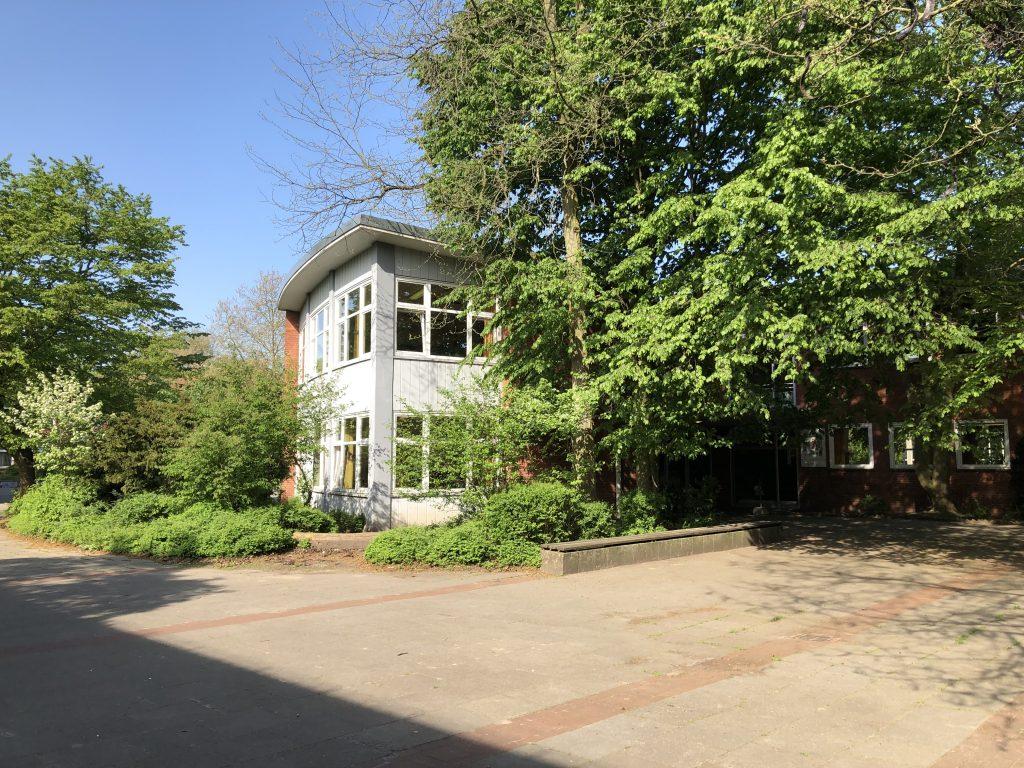 Blick von Haus 5 in Richtung Haus 2