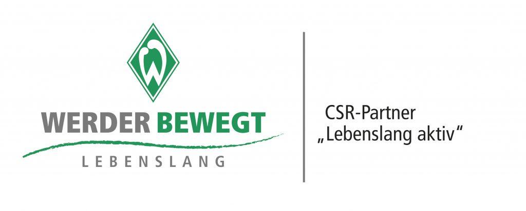 Wir sind Kooperationspartner von Werder Bremen; Plakette