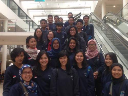 Besuch aus Indonesien