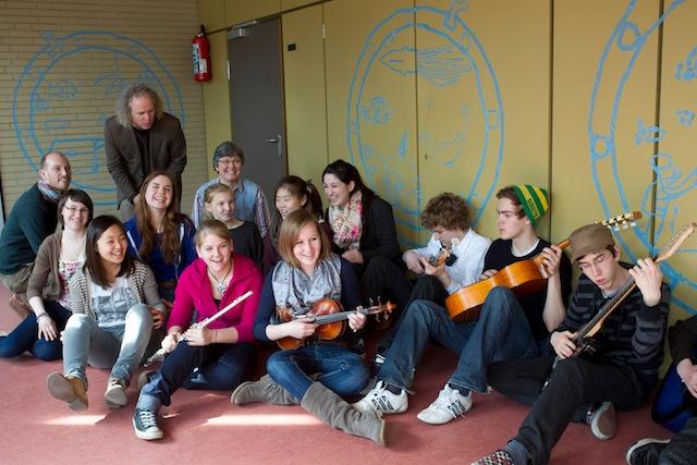 Schüler musizieren