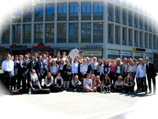 Gruppenbild der Konzertreise in die Schweiz